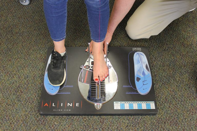 Orthotic Fitting - Aline Fitting 1