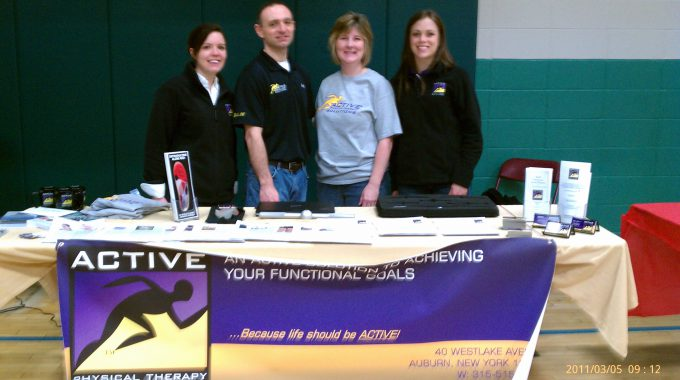 APTS Attends 2011 YMCA Health And Wellness Fair