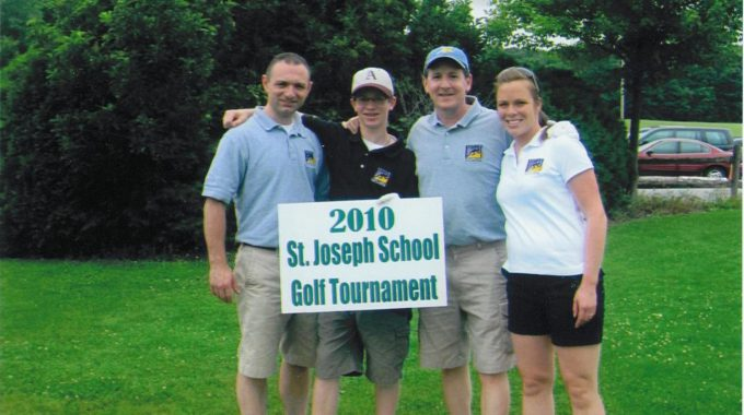 APTS Staff Plays In St. Joe's Golf Tourney